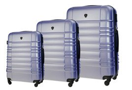 SUITCASE SET | STL838 ABS LIGHT PURPLE