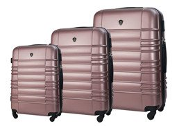 SUITCASE SET | STL838 ABS PINK