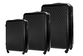 SUITCASE SET | STL870 ABS BLACK