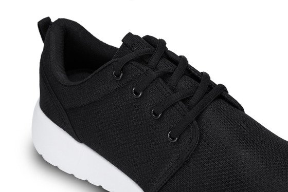 Black sporty shoes