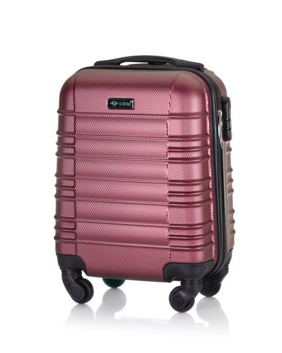 Cabin luggage 48x32x21 ABS STL838 pink
