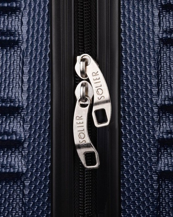 Cabin luggage ABS 48x32x21 STL838 navy