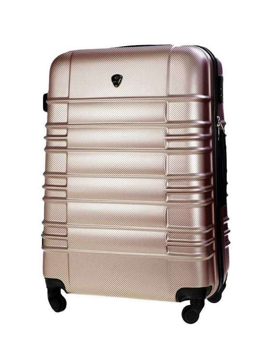 Cabin luggage ABS 55x37x24cm STL838 champagne
