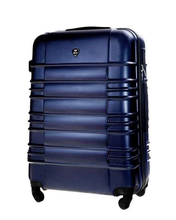 Cabin luggage ABS 55x37x24cm STL838 navy