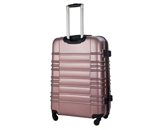Cabin luggage ABS 55x37x24cm STL838 rose gold