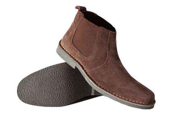 Classic leather suede Chelsea Jodhpur boots for men