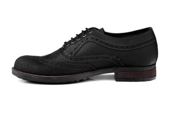 Classic men's Gibson brogue shoes - Oxford style
