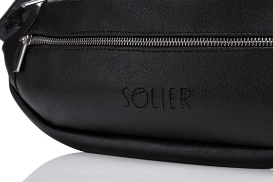 ECO LEATHER WAIST BAG SOLIER SN01 DELPHI