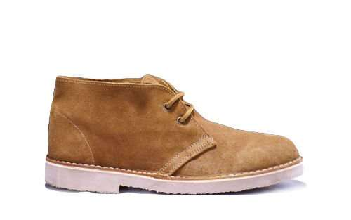 Men's stylish leather Chukka shoes/boots