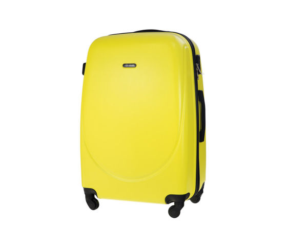 SMALL SUITCASE 55x35x22cm | STL856 ABS YELLOW