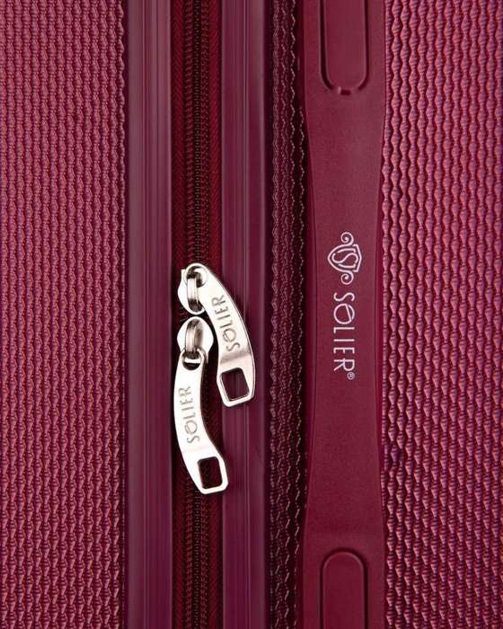 SMALL SUITCASE | STL946 ABS BURGUNDY