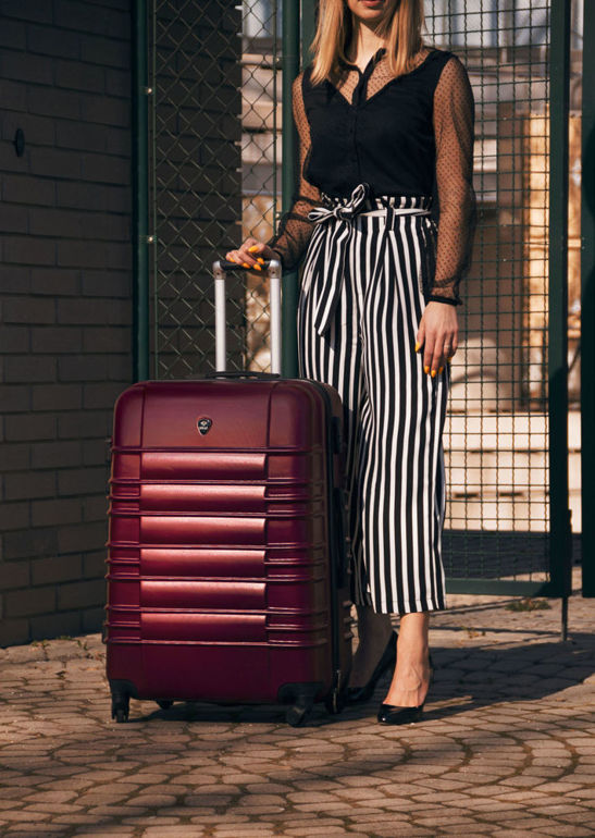 SUITCASE L | STL838 ABS LIGHT PURPLE