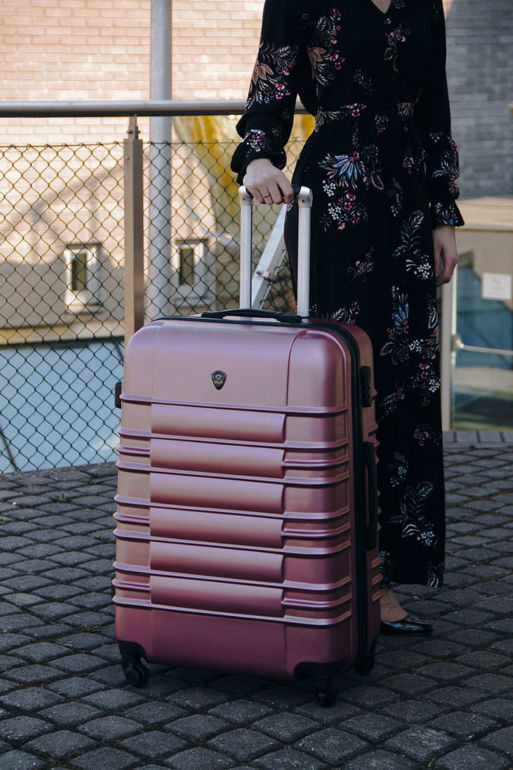 SUITCASE L | STL838 ABS PINK