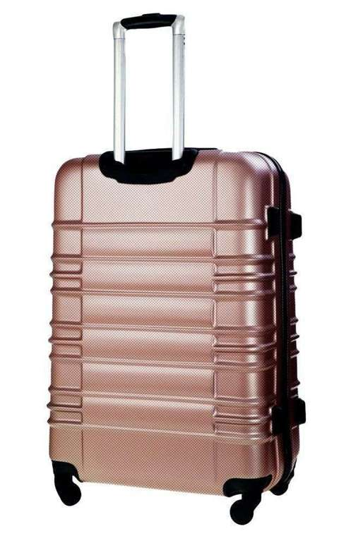 SUITCASE M | STL838 ABS ROSE GOLD