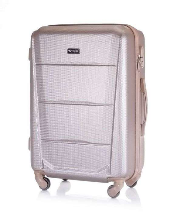 SUITCASE M | STL946 ABS CHAMPAGNE